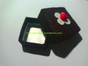 kotak hias untuk tempat cincin atau pernak pernik