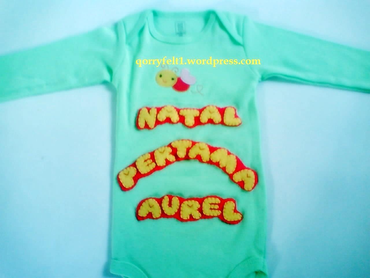Kumpulan Baju Bayi Jumper Nama Lucu Qorry Felt N Craft