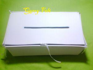kotak tisu flanel