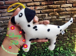 boneka dalmatian