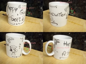 mug happy graduation
