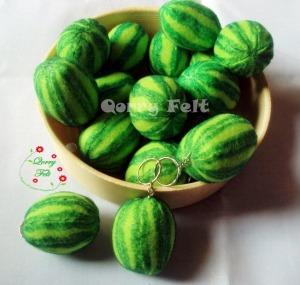souvenir gantungan kunci buah semangka